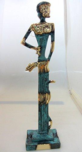 Replikat einer antiken griechischen Bronze-Statue des Hippokrates (204) (Hippokrates-statue)
