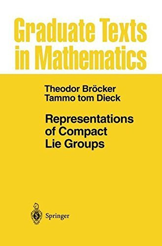 Representations of Compact Lie Groups (Graduate Texts in Mathematics Book 98) (English Edition)