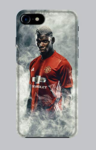 WorldSell Cover Morbida in TPU per Apple iPhone 7-8, Sport 059 Pogba