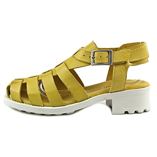 Eric Michael Mykonos Cuir Sandales Gladiateur yellow