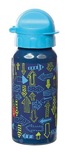 Preisvergleich Produktbild sigikid, Jungen, Trinkflasche mit Drehverschluss 0,4 l, Arrows, Blau, 24811