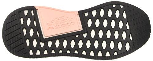 adidas Nmd_r2 Primeknit, Scarpe Running Donna Nero (Utility Black/core Black/ftwr White)