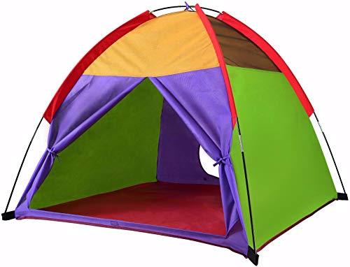 Alvantor Bambini Tende per Interni Children Play Tenda per Il Bambino Tenda per i Bambini Pop Up Tenda Ragazzi Ragazze Giocattoli Interni Esterni Playhouse Campeggio Giochi 8010 48a € X48Â € X42