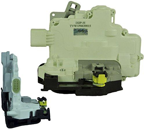 D2P für SEAT Leon 1.6 LPG/TDI hinten Links Seitentür Verschluss mit Zentralverrieglung 1P0839015