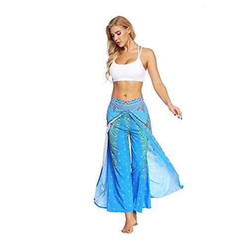 Shuangklei Yoga 3D Print Yogahosen Indischen Nationalen Kostüm -
