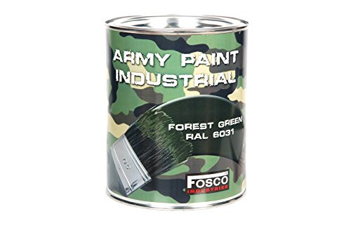 fosco-1-litre-forest-green-industrial-paint-can-military-green-army-drill-decoration-custom-airsoft-