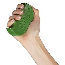 Soles Hand- und Fingertrainer für maximale Stärke und Rehabilitation - Grün (SLS521G)