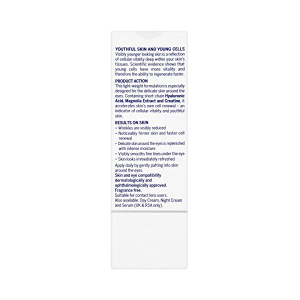 Nivea – Cellular anti – age skin rejuvenation, contorno de ojos anti edad, 15 ml