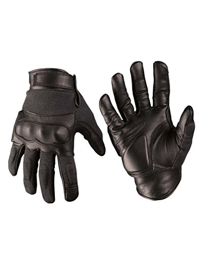 Mil-Tec Tactical Gloves Leder/Aramid schwarz Gr.M