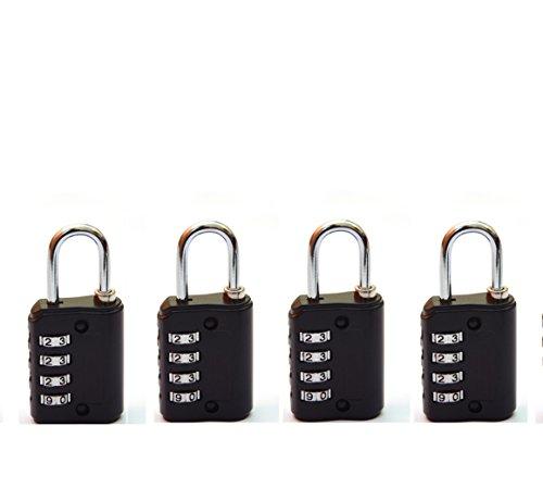 Mark Louis Premium Quality Luggage Lock Pack of 4