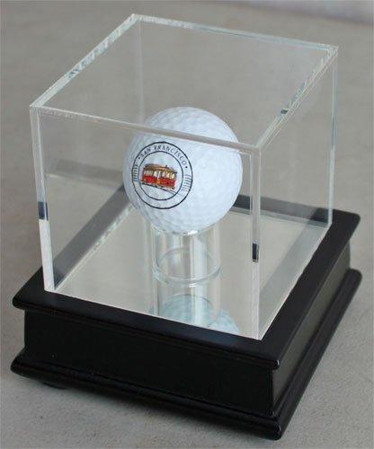 Display Fall für Eine Trick Oder Neuheit Golf Ball (Ball Nicht Enthalten), GB13, Black Stand