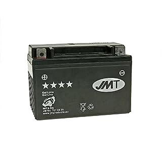 Batterie JMT GEL–YTX912Volt–Suzuki GSR 600A ABS B91121B. 2007–2011