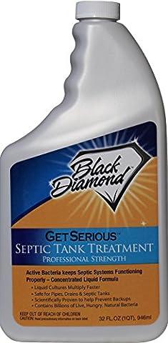 Get Serious Klärgrube Behandlung Liquid natürlichen Enzymen für privaten, gewerblichen, industriellen und RV-Systeme. 947ml