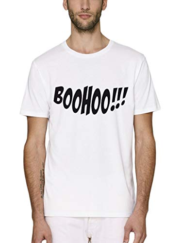 irt Bio und Fair Halloween Boohoo Weiß/Schwarz Größe S ()