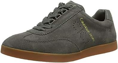Calvin Klein Jeans ABBOTT SUEDE, Herren Sneakers, Grau (SMOKE/SMK), 43 EU