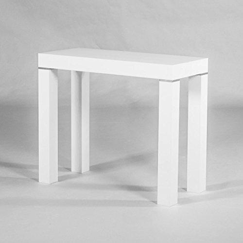 Group Design Konsolentisch ausziehbar Made in Italy Mixer weiß Abstandshaltern Moderne 14Arbeitsplätze Ry Pa