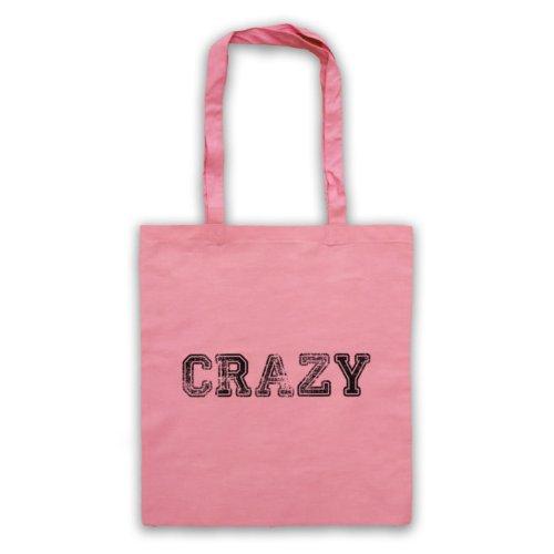 Funny Slogan Tote Bag Crazy Rosa