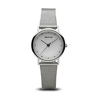 BERING Reloj Analógico para Mujer de Cuarzo con Correa en Acero Inoxidable 13426-000