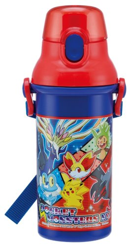Plastic one-touch bottle PSB5SAN drink Pokemon XY direct (japan import)