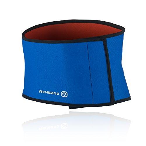 Rehband Herren Rückenbandage 7930 Basic, blau, XL, Basic Rückenbandage_3