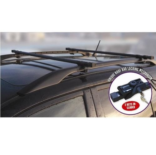 dodge-dakota-heavy-duty-steel-roof-rack-rail-bars-lockable-anti-theft