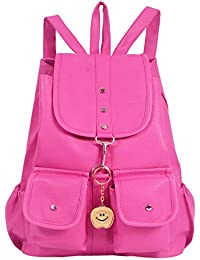 Beets Collection Studant Mini Shoulder Backpack for Women & Girls Bag (Pink)