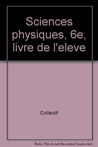 PANAF PHYSIQUE 6EME par Collectif