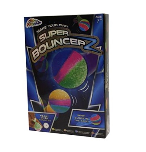 Make Your Own Super Bouncer Glow In The Dark Ball Bouncy Ball Kids Craft Ball (Balls The Dark Glow In Bouncy)