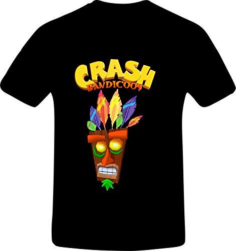 Crash Bandicoot, Best Quality Costum Tshirt Large
