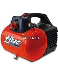 Compresor de aire Fiac Hobby 6 portátil con depósito con 6 Lt 0,3 Kw de potencia, práctico y manegevole