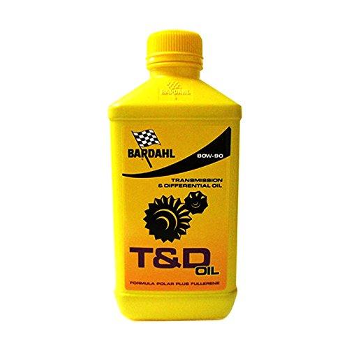 Olio cambio/trasmissione Bardahl T&D 80W90-1 Litro