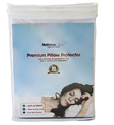 Premium Pillow Protectors - 100% Stain & Water Proof