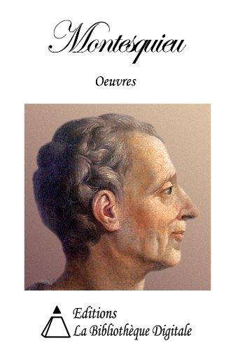 Oeuvres de Montesquieu par Montesquieu
