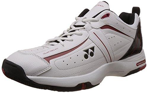 Yonex SHT Soft Tennis Shoes, UK 10 (white/Black)  available at amazon for Rs.2650