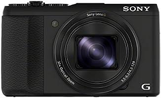 Sony DSC-HX50 Digitalkamera (20,4 Megapixel, 30-fach opt. Zoom, 7,6 cm (3 Zoll) LCD-Display, Full HD Video, WiFi) mit 24mm Sony G Weitwinkelobjektiv schwarz