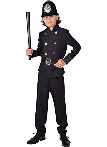 Magic Style Victorien Déguisement de Policier-128cm-7/8Ans