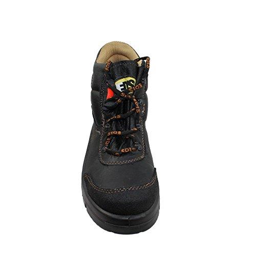 Edis De Trabalhar Sapatos De Sapatos Trekking S3 Preto interg Segurança De Sapatos A r4Pqr