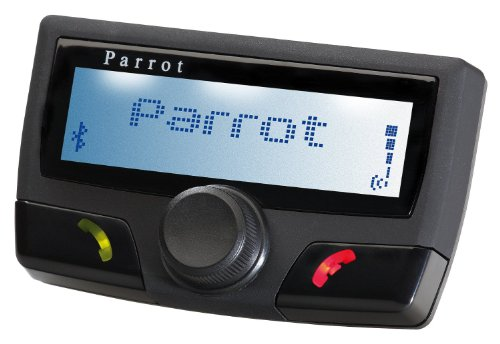 Parrot CK3100 LCD - Manos libres Bluetooth para móvil, color negro