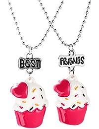 Collana Con Pendente BFF Best Friends Forever Per 2 Ragazze