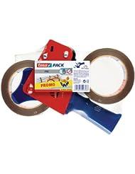 tesa Packband-Abroller mit 2 Rollen tesapack 66 m x 50 mm