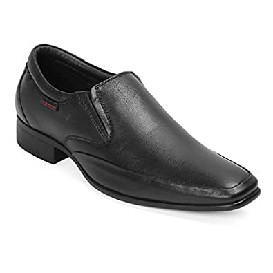 Red Chief Men's Black Leather Formal Shoes-10 UK/India (44 EU) (RC3544 001)