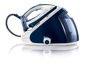 Philips GC9224/20 PerfectCare Expert Centrale Vapeur Repassage sans Réglage Autonomie Illimitée Bleu/Blanc 1,5 L