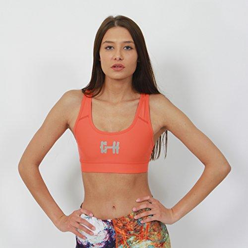 Gymheadz - Canotta -  donna Orange