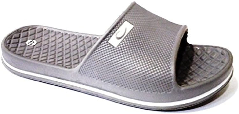 dema - Zapatillas de estar por casa para hombre Gris gris 43