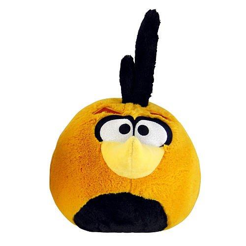 Angry Birds Plüsch 12,7cm orange Globe Bird mit Sound (Auslaufmodell) - Orange Globe Bird
