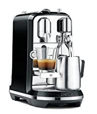Breville Nespresso Creatista Espresso Maker, Black