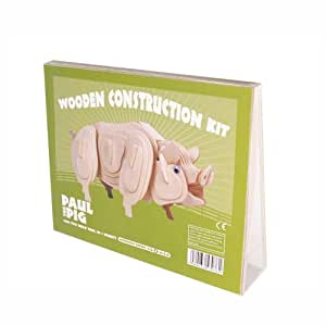 Professor Puzzle - Uk - 331816 - Kit De Construction - Animal - Paul Pig