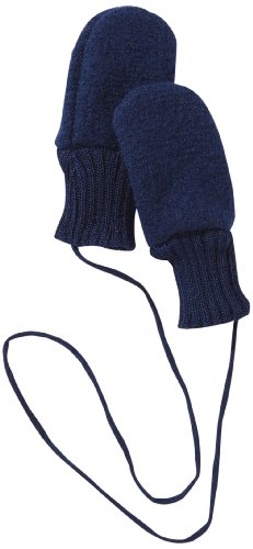 Disana 34204XX - Walk-Handschuhe Wolle marine, Size / Größe:S Warme Wolle Handschuhe