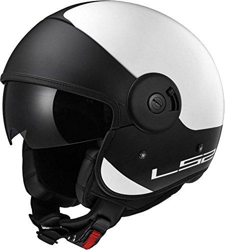 Preisvergleich Produktbild LS2 OF597 CABRIO VIA Jethelm matt weiss / schwarz L