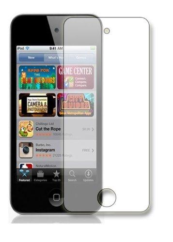 Membrane 3 x Displayschutzfolie kompatibel mit Apple iPod Touch 5 - Kristallklar Ipod Screen Guard